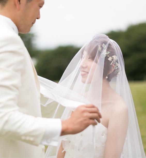 新たな日常 写真撮影で結婚式
